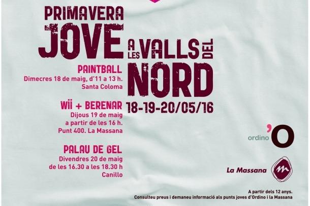 Les Valls del Nord proposen tres activitats per als joves per a les vacances escolars de la setmana vinent