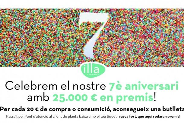 Illa Carlemany celebra el setè aniversari amb exposicions i 25.000 euros en premis