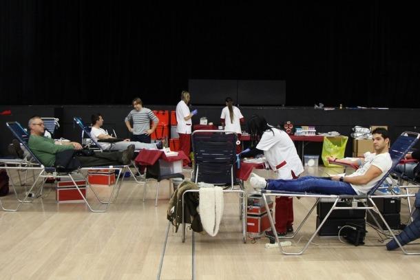 La Creu Roja tancarà la tercera campanya de donacions de sang amb un miler de donants en un any