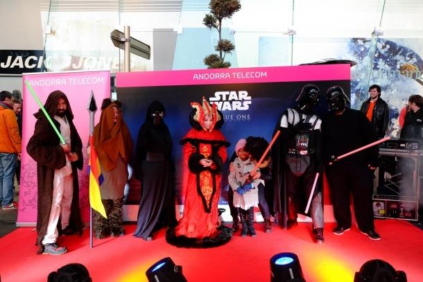 Andorra Telecom convida 250 persones a l'estrena de la nova pel·lícula d''Star Wars'
