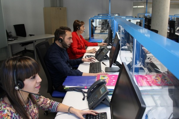 Creix un 68% en un any la plantilla del contact center internacional ESPIC
