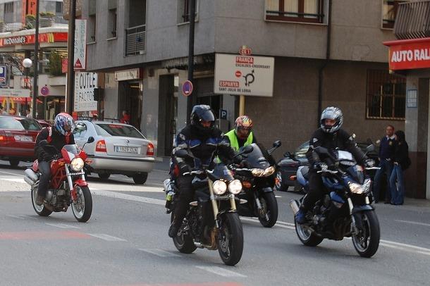 Nova campanya adreçada a conductors de motocicletes