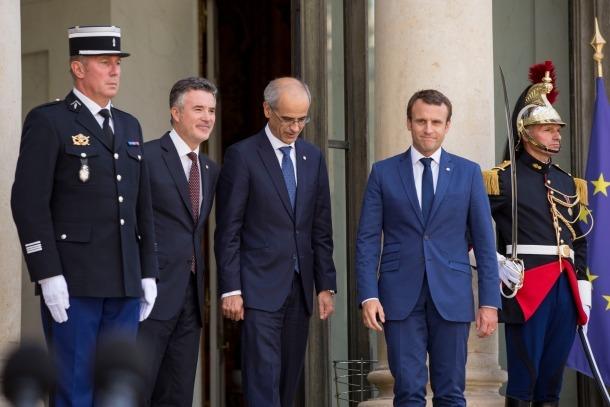 Macron accepta la invitació i visitarà Andorra el primer semestre del 2018