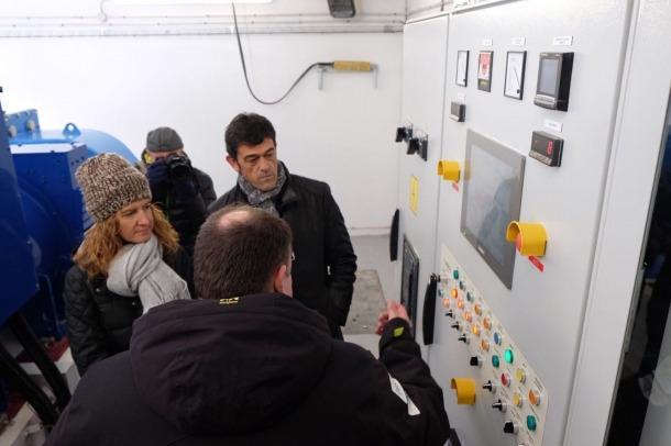 La primera minicentral hidroelèctrica del país ja ha produït l'equivalent al consum anual de 350 llars