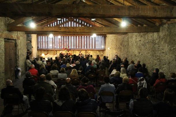 Un concert a Casa Rossell.