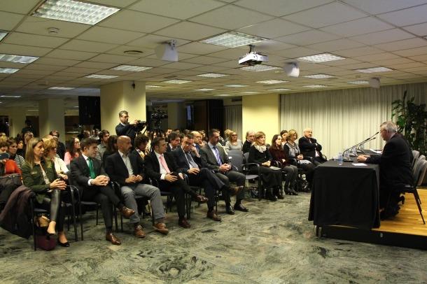 Una xerrada recent organitzada per la Fundació Crèdit Andorrà dins del programa 'La salut al dia'