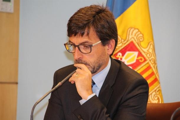 El ministre de Finances, Jordi Cinca, en una imatge d'arxiu.