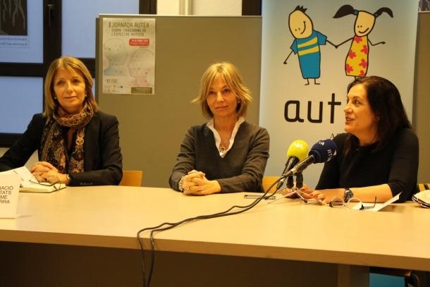 Presentació de la primera jornada Autea en roda de premsa.