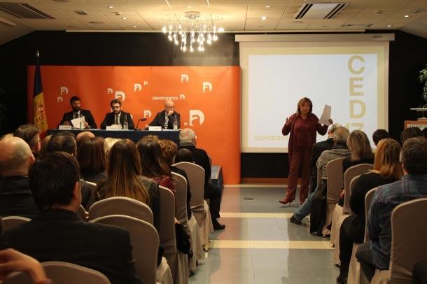 El darrer congrés de Demòcrates per Andorra.