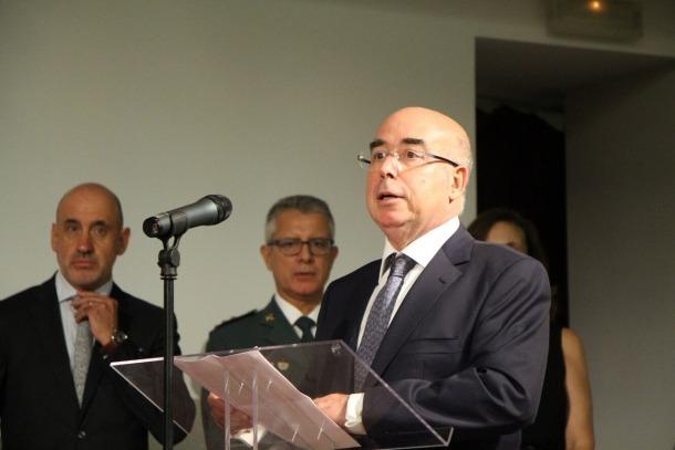 L'ambaixador d'espanya a Andorra, Manuel Montobbio, en un acte institucional celebrat l'octubre passat.