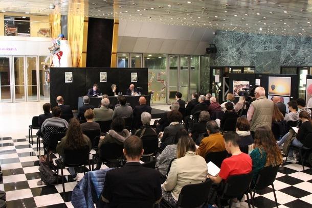 La inauguració de les segones jornades de literatura a Sant Julià de Lòria.