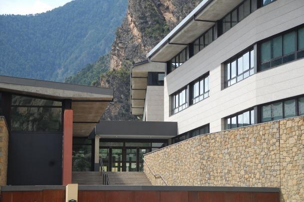 L'escola andorrana de la Margineda.