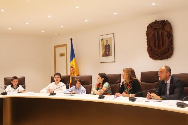 El Comú d'Andorra la Vella ha celebrat el 2n Consell d'infants aquest dimarts.
