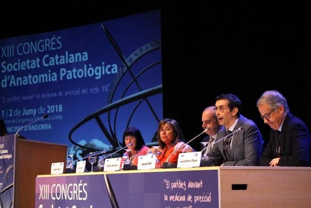 ANA/Inauguració del congrés català d'Anatomia Patològica.