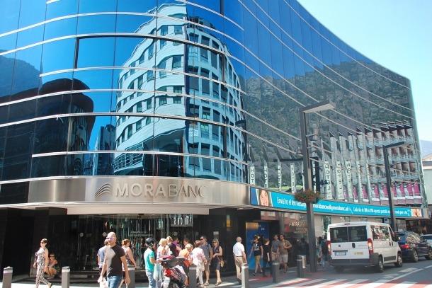 Seu central de MoraBanc a Andorra la Vella.