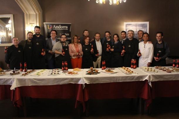 Dinou restaurants, entre els quals vuit de nous, a la tercera edició de l'Andorra de tapes