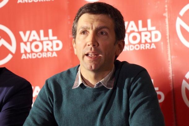 El director d'Ordino Arcalís, Xabier Ajona.