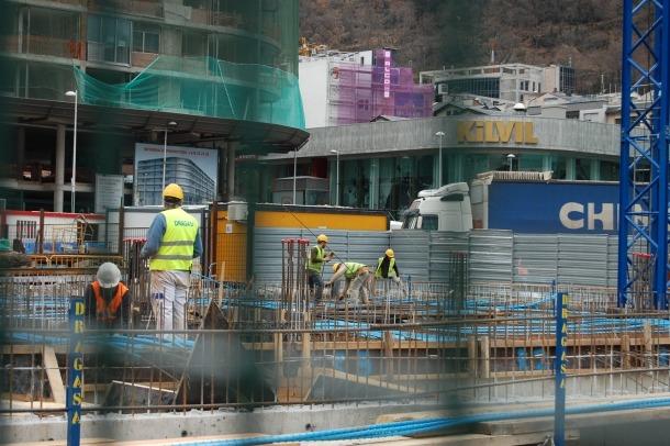 La construcció és un dels sectors que han reactivat més l'economia.