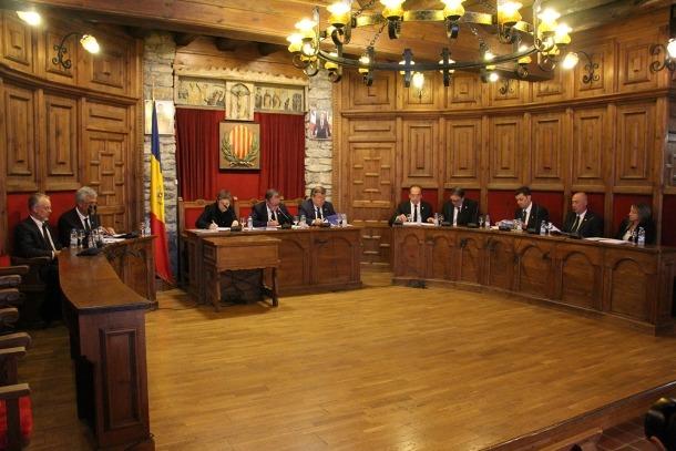 La celebració del consell de comú de Sant Julià de Lòria.