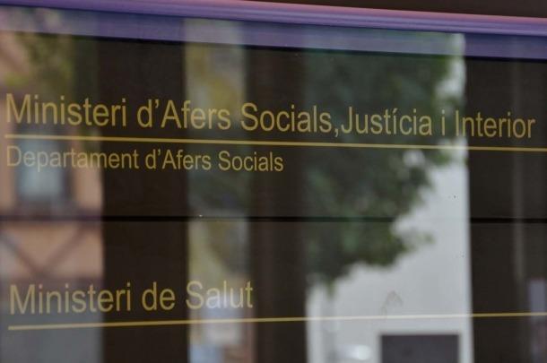 Una imatge de la seu del ministeri d'Afers Socials.