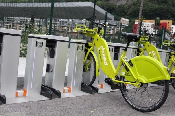 El servei de bicicletes elèctriques es perfila com una alternativa a l'hora d'agafar el vehicle particular per fer trajectes curts.