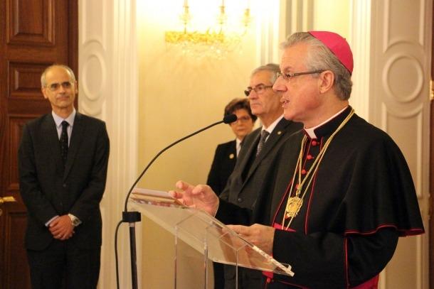 El copríncep episcopal Joan-Enric Vives.