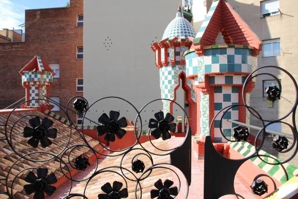 Una imatge de Casa Vicens.