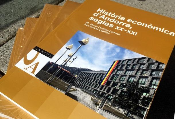 El llibre 'Història econòmica d'Andorra, segles XX-XXI'.