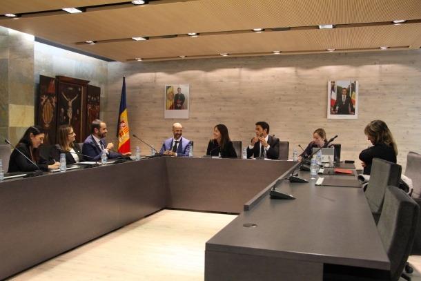 Un moment del consell de comú celebrat aquest dijous a Ordino