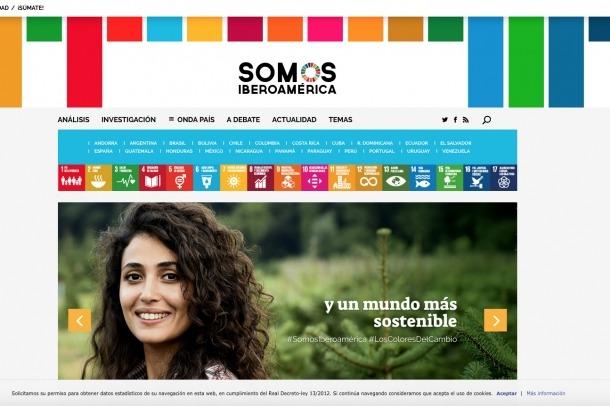 Una imatge de la web del projecte.