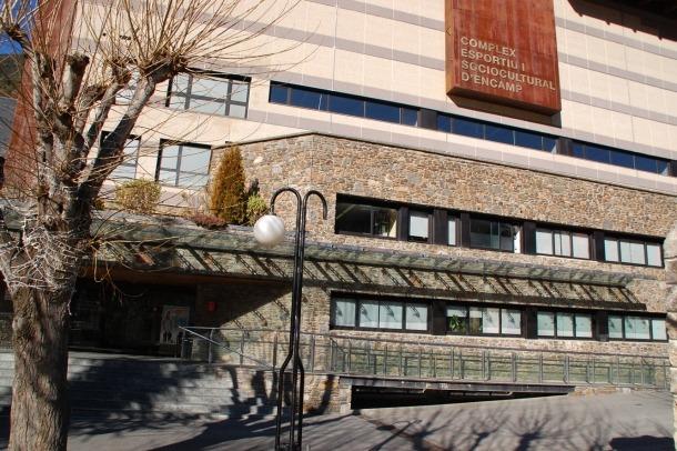 Una imatge del centre esportiu d'Encamp.