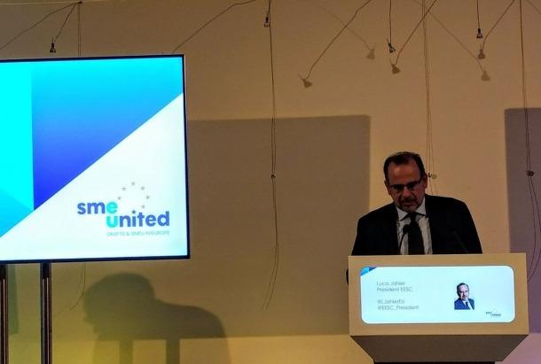 El president del Consell Econòmic i Social de la Unió Europea (EESC), Luca Jahier.