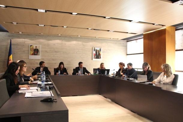 Un moment del consell de comú celebrat aquest dijous a Ordino.