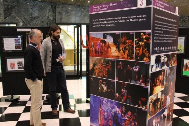 Un dels plafons que es podran veure repartirs per Sant Julià de Lòria a partir del pròxim 22 de desembre.