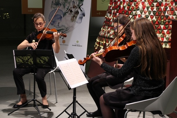 Un moment del concert de Nadal de la Jonca.