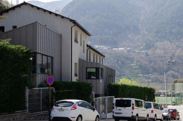 Imatge exterior del centre de menors de la Gavernera.