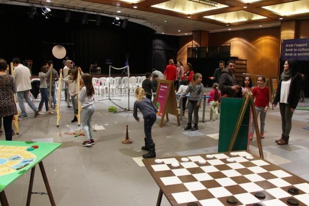 Algunes de les activitats que s'han fet a Encamp durant el Saló de la infància i la joventut.