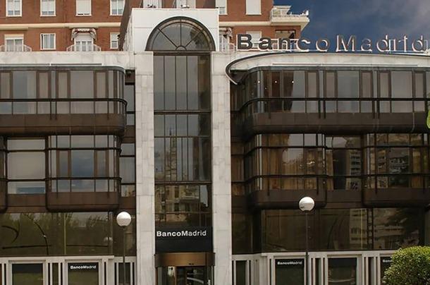 Edifici del Banco Madrid.
