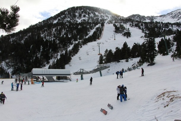 Imatge de l'estació d'Ordino Arcalís.