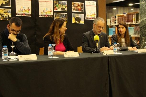 La roda de premsa d'aquest dimarts a Sant Julià de Lòria.