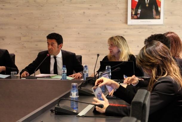 Un moment del consell de comú d'Ordino celebrat aquest dijous al migdia.