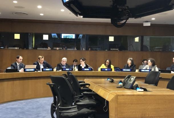 L'acte d'aquest dilluns a l'ONU.