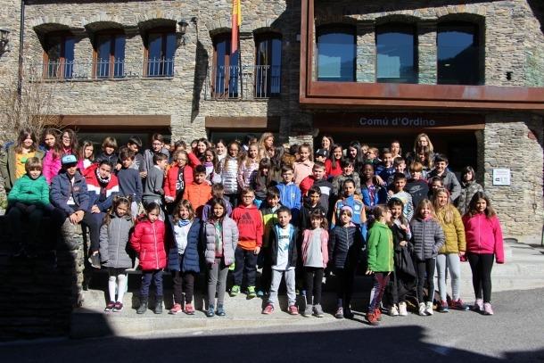 El Consell d'infants d'Ordino.