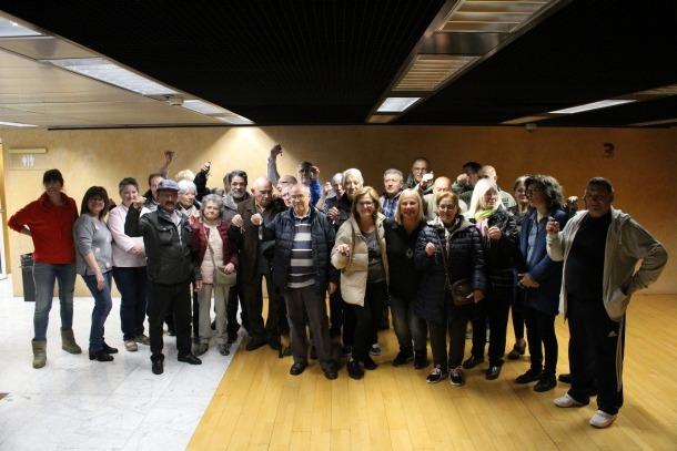 Foto de grup amb tots els padrins.