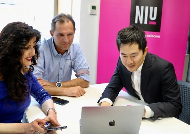 L'emprenedor xinès Huanzhou Zhang.
