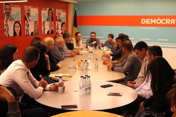 Una reunió recent de l'executiva de DA.