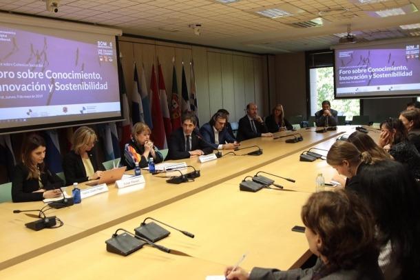 La participació andorrana en el fòrum celebrat a Madrid.