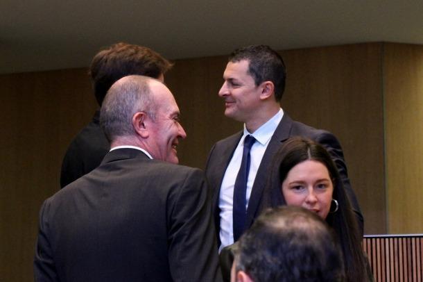 El president del grup parlamentari liberal, Jordi Gallardo.
