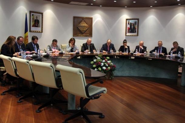 La sessió de consell de comú d'Encamp que va servir per aprovar les ajudes per al Pas de la Casa.