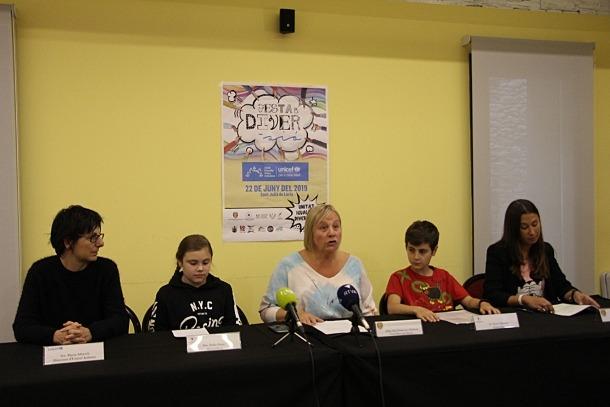 Els ponents durant la roda de premsa de presentació de l'esdeveniment.
